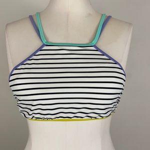 Victoria's Secret multicolor swim top Size S/P